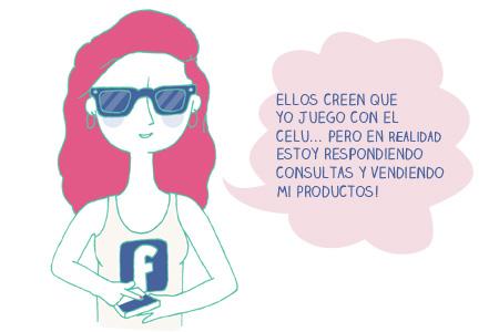 No juegue en Facebook, mejor vendé tus productos