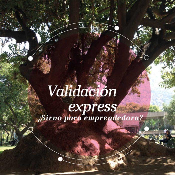 Validación express: ¿sirvo para emprendedora?