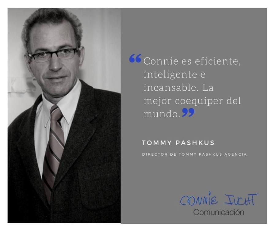 Tommy Pashkus habla de Connie Iucht