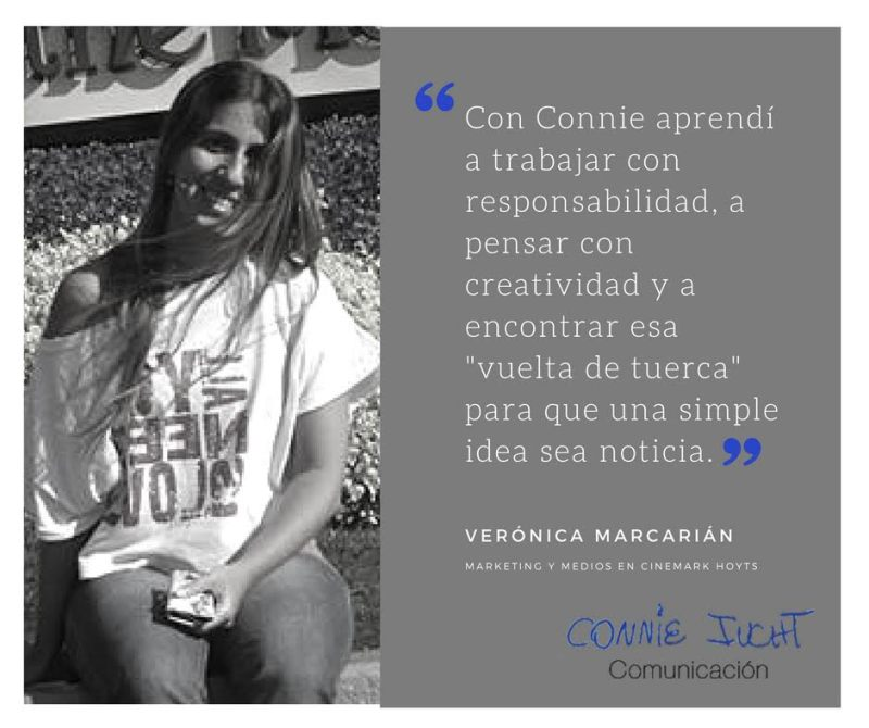Verónica Marcarián habla de Connie Iucht